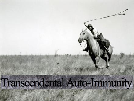 Transcendental Auto-Immunity