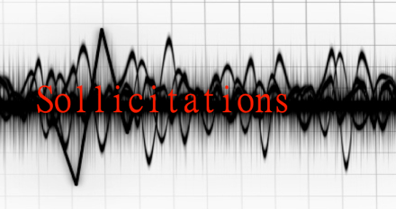Sollicitation is seismics of signs.